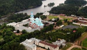 Святейший Патриарх Кирилл прибыл на Валаам