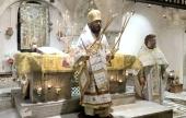 Митрополит Волоколамский Иларион совершил в Бари Литургию на мощах святителя Николая Чудотворца