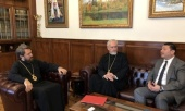 Митрополит Волоколамский Иларион встретился с генеральным директором Международного центра межрелигиозного и межкультурного диалога имени Короля Абдаллы