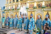 Митрополит Минский Павел возглавил торжества по случаю праздника Сукневичской иконы Божией Матери в городе Сморгони Гродненской области