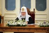 Слово Святейшего Патриарха Кирилла на заседании Попечительского совета по восстановлению Валаамского монастыря
