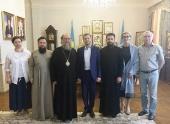 В Алма-Ате состоялось совещание по вопросу открытия в Казахстане представительства православного телеканала «Спас»