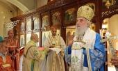 Предстоятель Сербской Православной Церкви совершил богослужение на Русском Подворье в Белграде