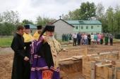 Рядом с соликамским военно-промышленным заводом «Урал» заложена часовня