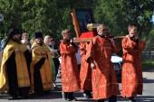 Петропавловский крестный ход состоялся в день памяти первоверховных апостолов в Североморской епархии
