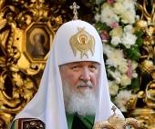 Патриаршая проповедь после Литургии в московском храме святых апостолов Петра и Павла в Лефортове