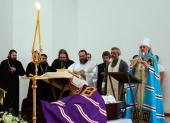 Гроб с телом почившего епископа Илии (Казанцева) доставлен в Бирск