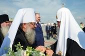 Святейший Патриарх Кирилл прибыл в Екатеринбург