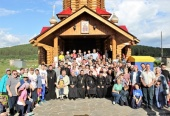 При поддержке Синодального отдела по социальному служению проходит слет трезвости и здоровья «Урал-2018»