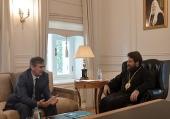 Председатель ОВЦС встретился с послом Албании в России