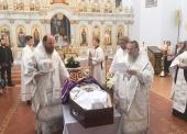 Состоялось отпевание и погребение епископа Илии (Казанцева)