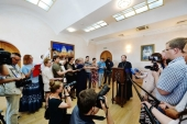 В Екатеринбурге завершилось заседание Священного Синода