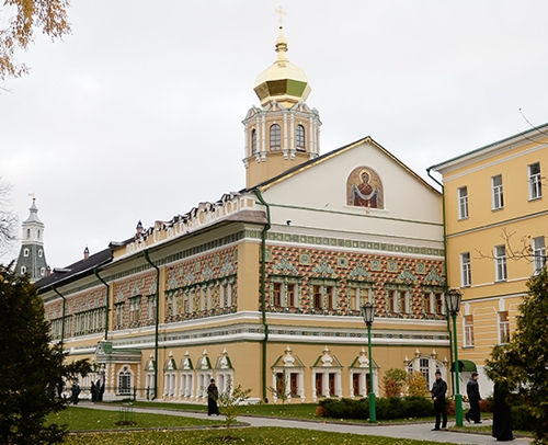 Московская духовная академия и семинария
