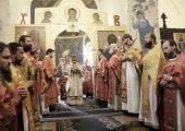 В Марфо-Мариинской обители милосердия в Москве отметили день памяти преподобномучениц великой княгини Елисаветы Феодоровны и инокини Варвары