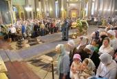 В день празднования Казанской иконе Божией Матери митрополит Санкт-Петербургский Варсонофий возглавил Литургию в Казанском соборе Северной столицы