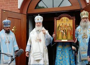 Слово Святейшего Патриарха Кирилла после Литургии на подворье Покровского ставропигиального монастыря