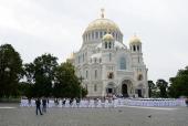 Ко Дню ВМФ в Кронштадт будут принесены мощи святого праведного воина Феодора Ушакова