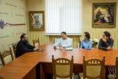 Состоялась встреча председателя Информационно-просветительского отдела Украинской Православной Церкви с представителями мониторинговой миссии ОБСЕ