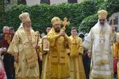 На Антиохийском подворье в Москве отметили престольный праздник