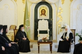 Состоялась встреча Святейшего Патриарха Кирилла с Предстоятелем Александрийской Православной Церкви