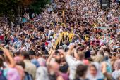250 тысяч верующих приняли участие в Крестном ходе в Киеве по случаю 1030-летия Крещения Руси