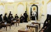 Слово Святейшего Патриарха Кирилла на встрече с делегациями Поместных Православных Церквей, прибывшими в Москву на празднование 1030-летия Крещения Руси