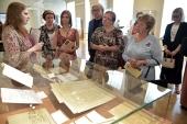 Выставка, посвященная церковным музеям, открылась в Президентской библиотеке в Санкт-Петербурге