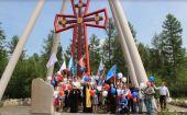 В Чите состоялся автопробег, посвященный 1030-летию Крещения Руси