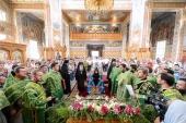 Митрополит Астанайский Александр возглавил торжества по случаю престольного праздника Иверско-Серафимовского монастыря Алма-Аты