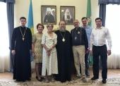 Состоялась встреча митрополита Астанайского и Казахстанского Александра с представителями Евангелическо-лютеранской церкви Баварии