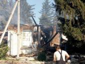 В Житомирской области сгорел православный храм, закрытый из-за межконфессиональных конфликтов
