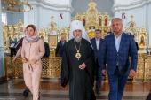 Кафедральный собор Омской епархии посетил президент Молдавии