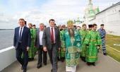 В Свято-Троицком Макарьевском Желтоводском монастыре молитвенно почтили память основателя обители