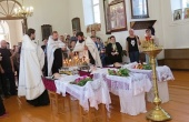 В Смоленской епархии состоялось отпевание детей, утонувших в Западной Двине