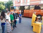 Акция «День донора» состоялась на территории кафедрального собора Саратовской епархии