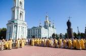 В Тамбове прошли торжества по случаю дня памяти святителя Питирима Тамбовского и праздника Собора Тамбовских святых