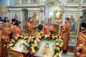 100-летие кончины священномученика Амвросия Сарапульского молитвенно отметили в Удмуртии