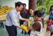 Патриаршее благочиние в Таиланде оказало благотворительную помощь беженцам-каренам