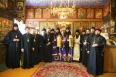 Священнослужители семи епархий совершили Литургию по древнерусскому чину в Крестовоздвиженской единоверческой церкви Кузнецка