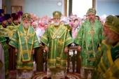 Патриарший экзарх всея Беларуси возглавил торжества по случаю 100-летия со дня рождения преподобной Манефы Гомельской