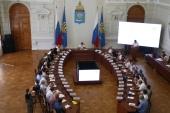 Правящий архиерей Ахтубинской епархии выступил на заседании этноконфессионального совета при губернаторе Астраханской области