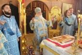 Митрополит Истринский Арсений совершил Божественную литургию в домовом храме Патриаршей резиденции в Чистом переулке