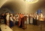В Новоспасском ставропигиальном монастыре состоялся молебен о здравии страждущих гемофилией