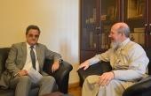 Заместитель председателя ОВЦС встретился с послом Швейцарии в России