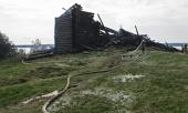 Власти Карелии хотят восстановить сгоревшую Успенскую церковь XVIII века