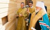 Митрополит Минский Павел заложил храм Архангела Михаила в агрогородке Лесной Минской области