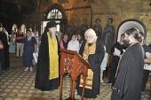 В Саввино-Сторожевском монастыре состоялись панихида по епископу Василию (Преображенскому) и освящение памятной доски над его могилой