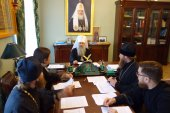 Состоялось заседание комиссии по распределению выпускников духовных учебных заведений