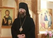 """Episcopul de Mojaisk Leonid: """"Noi am venit la mănăstire pentru a comunica cu Dumnezeu și acest scop trebuie transpus în viață"""""""