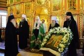 Предстоятель Русской Церкви посетил Богоявленский собор в Нарьян-Маре